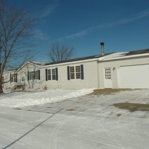 3 Bedroom Doublewide with Garage